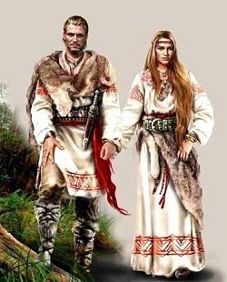 Юбка в жизни славянской женщины